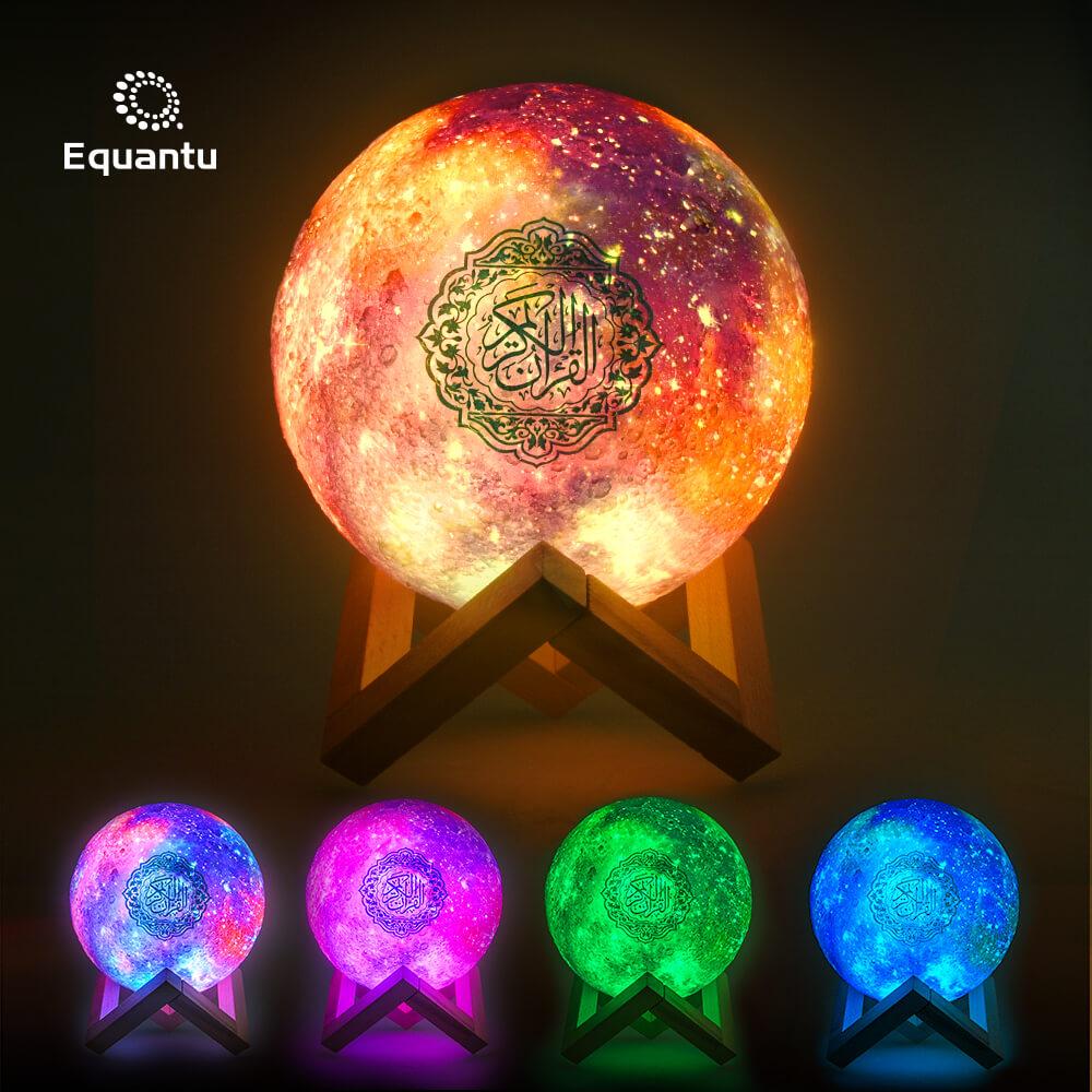 Galaxy Moon Lamp Quran Speaker QB512