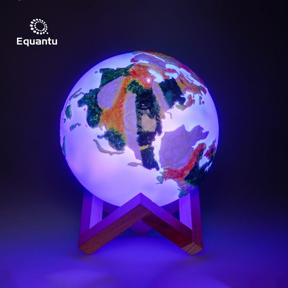 Colorful Earth Lamp Quran Speaker SQ172