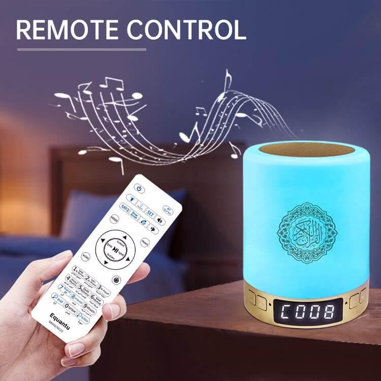 Touch lamp azan clock quran speaker SQ122