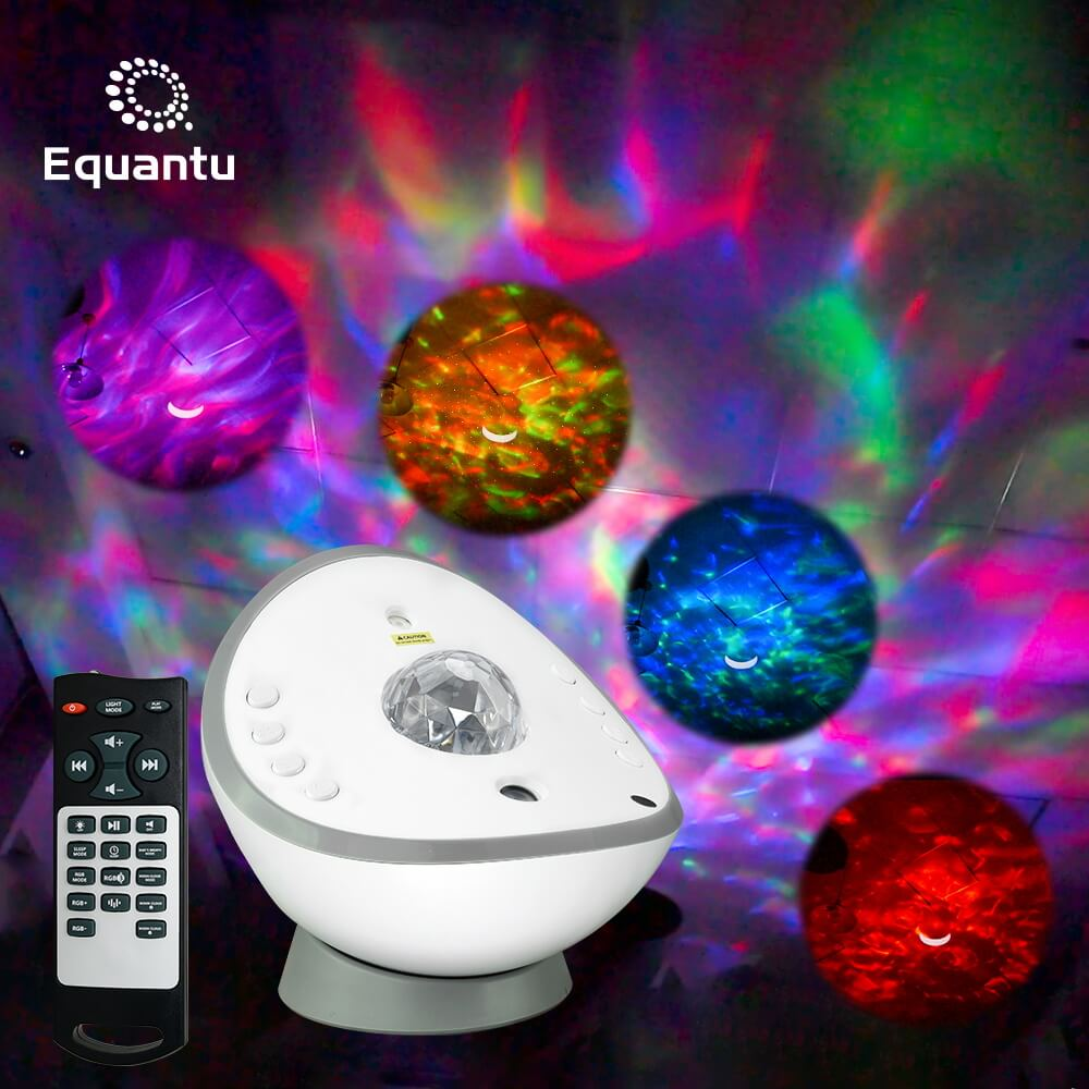 Starry Speaker Lamp Galaxy Projector QB958