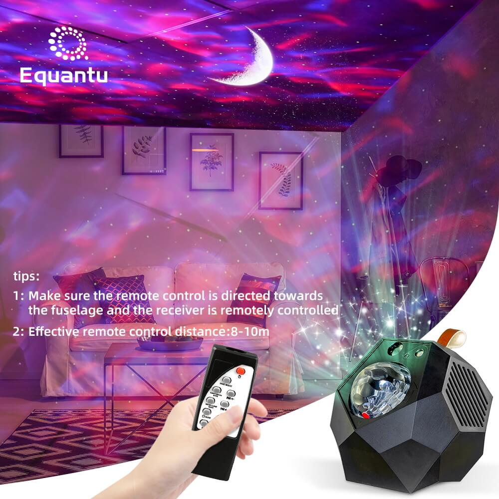 Portable Starry Speaker Lamp Galaxy Projector QB959